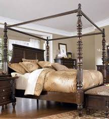 king size canopy bed ashley furniture. Modren Bed Key Town California King Size Canopy Bed From Millennium By Ashley Furniture To O