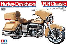 tamiya 16040 1 6 scale motorcycle model kit harley davidson flh