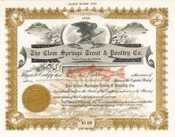 Stock Certificats Collectible Stock Certificates Antique Stocks Antique Stock