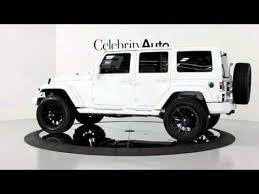 2012 jeep wrangler sahara 4wd auto white hardtop 20 2 5 lift sound pgk