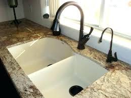 white sink cascade precis reviews sinks kitchen diamond blanco silgranit undermount u level x
