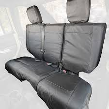 ballistic seat cover rear black 07 10 jeep wrangler jku 4