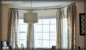 Stylish Bay Window Curtain Rods Beautiful Curtain Rods For Bay Windows  Curtain Rods For Bay Windows Decor ...