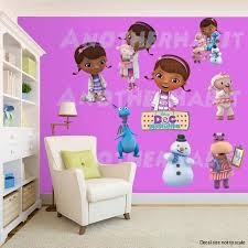 doc mcstuffins wall decal room decor