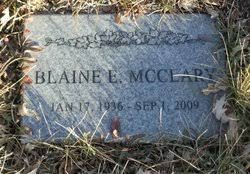 Blaine Edwin McClary (1936-2009) - Find A Grave Memorial