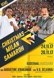gospel meeting flyer in india permission reissued to conduct gems christmas gospel meeting in