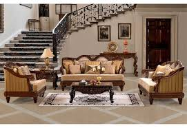 Upholstered Living Room Furniture Hd 386 Homey Design Upholstery Living Room Set Victorian European