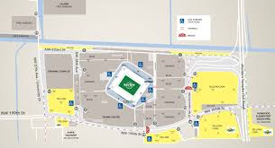 Miami Dolphins Hard Rock Stadium Seating Chart Parking_directions Yellow Parking Hard Rock Stadium