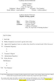 Sample Board Meeting Agenda Non Profit Board Meeting Agenda Template Besikeighty24co 16