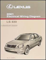 lexus ls wiring diagram manual original