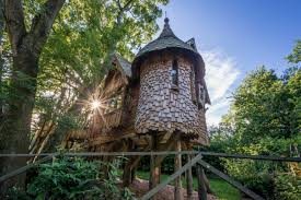 Luxury Family Treehouse With Hot Tub  Forest Of DeanFamily Treehouse Holidays Uk