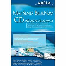Mapsend Bluenav Charts Magellan Bluenav North America Cd