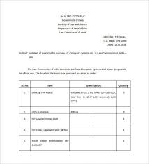 price quotation format doc price quotation template 18 free word excel pdf documents