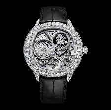 white gold diamond ultra thin tourbillon watch g0a37039 piaget piaget emperador cushion shaped watch