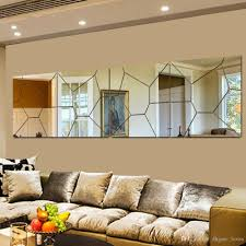 Modern mirrors for living room Wall Sculpture Diy 3d Acrylic Modern Mirror Decal Art Mural Wall Sticker Home Decor Removable Custom Wall Decals Custom Wall Sticker From Dhgateloves 514 Dhgatecom Mariop Diy 3d Acrylic Modern Mirror Decal Art Mural Wall Sticker Home Decor