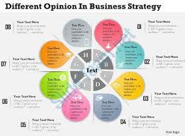 0314 Business Ppt Diagram Different Opinion In Business Strategy