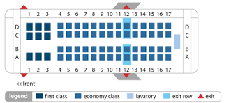 Delta Connection Seating Chart Delta Connection Crj 700 Operation By Expressjet