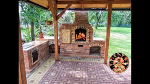 photo 4 of 8 diy building outdoor fireplace with smoker and grill bbq charming building outdoor fireplace grill