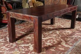 Rosewood Dining Table Sheesham Indian Rosewood Dining Table Ca 1950s At 1stdibs
