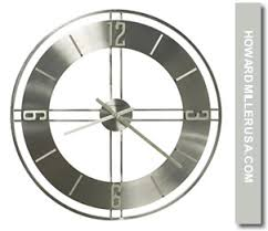 Small Picture 625520 Howard Miller Oversized Wrought Iron Quartz Wall Clock