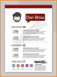 Graphic Designer Resume Sample Adorable Resume Template Graphic Designer Resume Template Sample Resume