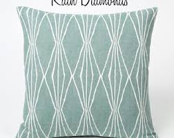 teal decorative pillows. Simple Pillows Rain Collection  Teal Throw Pillows Small Decorative  Diamond Patterned In T