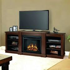 electric fireplace tv stand 70 inch cherry brown electric fireplace stand edenfield 70 in freestanding infrared