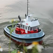 1 20 scale two motors fraser river tug boat rc assembly model kit kids gifts