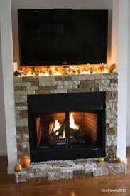 enchanting design of ventless gas fireplaces with tile outer for home interior design idea