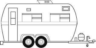 Camp Trailer Clipart