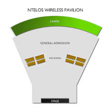 Sprint Pavilion 2019 Seating Chart