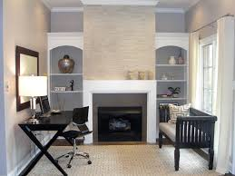 futon office. glamorous trestle desk in home office contemporary with gray color scheme next to futon alongside
