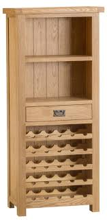 wine rack cabinet. Chichester Oak Wine Rack Cabinet T