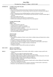 Welder Resume With No Experience Cover Letter Samples Pipe Objective