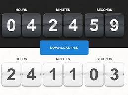 Freebie Psd Countdown Timer By Barin Christian On Dribbble