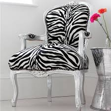 zebra print chair shabby chic louis zebra print arm chair irvinginteriors