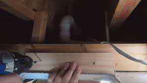 building a housing for bathroom fan with boards