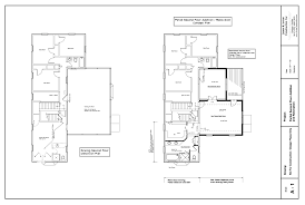second floor addition plans for home in montgomery county maryland