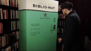 Vending Machine Second Hand Magnificent BiblioMat Vending Machine Dispenses Random SecondHand Books