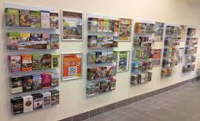 Flyer Display Stands Leaflet Poster Display Racks Shop Stand Distribution Flyer 31