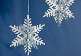 How To Make A 3d Snowflake How To Make 3d Paper Snowflake Ornaments