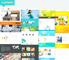 Parallax Website Template Enchanting Free Parallax Website Template Web Responsive Effect Creative