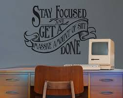 inspirational wall art for office. Free Shipping Inspirational Vinyl Cool Wall Decal Quotes For Office Art