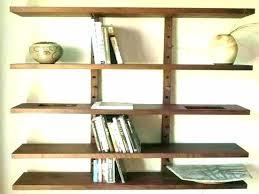 wood wall bookshelves shelves for the wooden bookshelf wonderful white kitchen