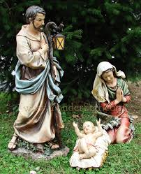 nativity scene full color outdoor popular silhouette