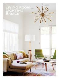 living room lighting basics from anne sage on lamps plus