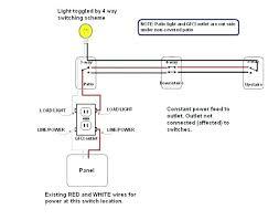 gfci red light 3 wire breaker wiring diagram 4 way using outlet load gfci red light 3 wire breaker wiring diagram 4 way using outlet load connectors for light