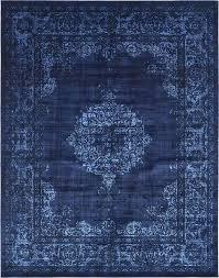navy blue area rug for nursery 8 x renaissance rugs
