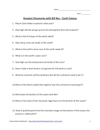8Th Grade Earth Science Worksheets Free Worksheets Library ...