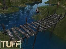 Wooden Bridge Game Second Life Marketplace [TUFF] Old Wooden Bridge 28